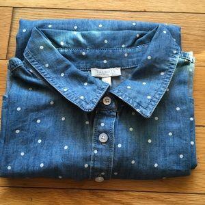Talbots Chambray Shirt